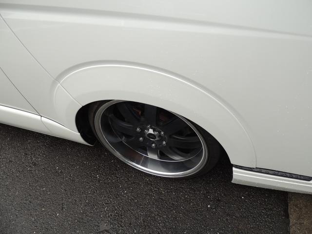 GL ファインテックツアラー ボルドエアサス ファブレス20インチ フリップダウン2個 カスタムカー 外パーツ(5枚目)