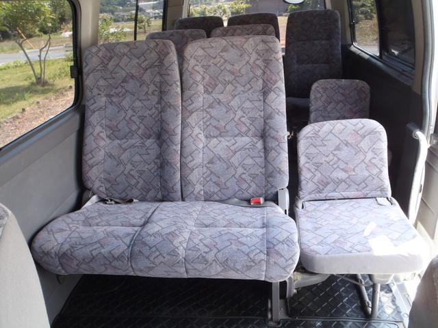 日産 キャラバンバス スーパーロングGX 12人乗り