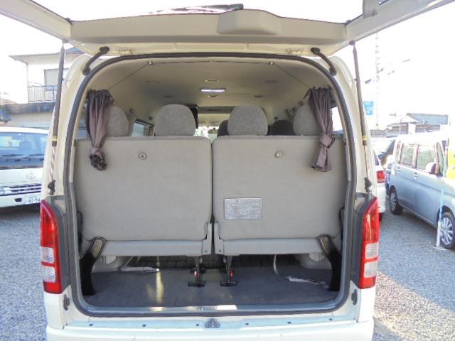 トヨタ ハイエースワゴン 4WD GL