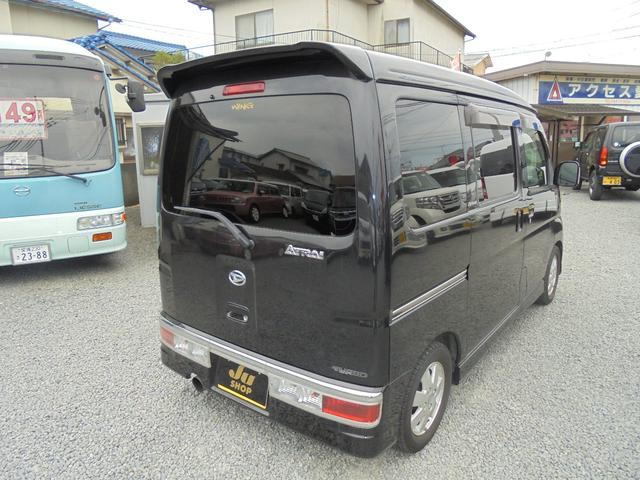 カスタムターボRS ブラックエディション 4WD(4枚目)