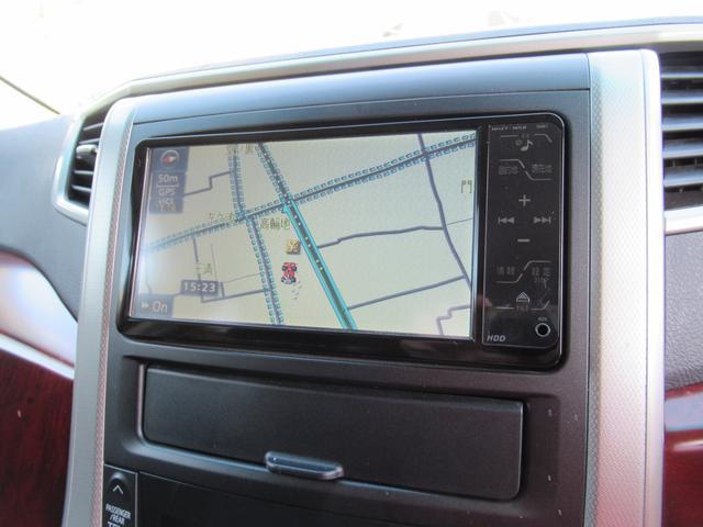 トヨタ ヴェルファイア 2.4Z HDDナビ地デジ