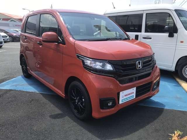 「ホンダ」「N-WGNカスタム」「コンパクトカー」「愛媛県」の中古車3