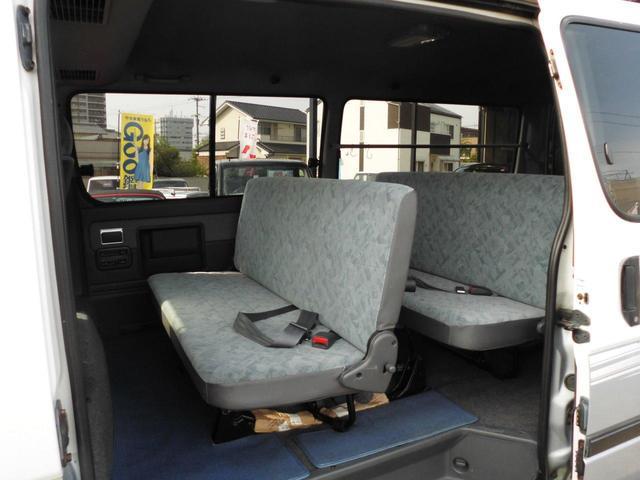 ロングスーパーGL 8人乗り公認・4WD・3000ディーゼル・外品15AWBSデューラーATタイヤ・ケンウッドメモリーナビ・バックカメラ・ミラー1体型ドライブレコーダー・分離型ETC・リヤヒーター・リヤエアコン(18枚目)