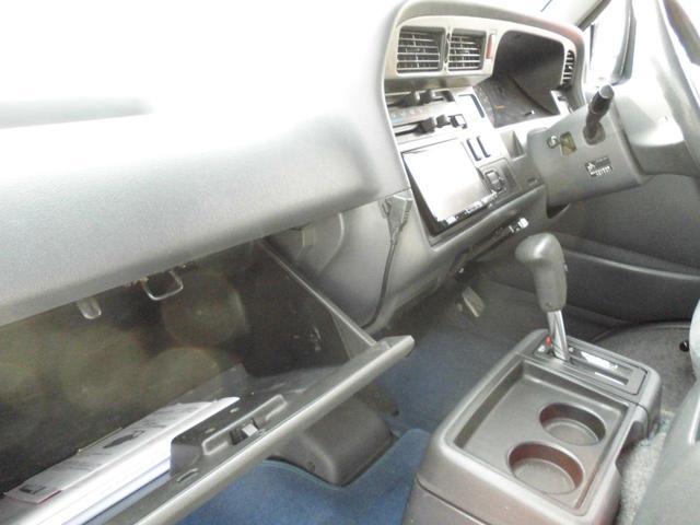 ロングスーパーGL 8人乗り公認・4WD・3000ディーゼル・外品15AWBSデューラーATタイヤ・ケンウッドメモリーナビ・バックカメラ・ミラー1体型ドライブレコーダー・分離型ETC・リヤヒーター・リヤエアコン(22枚目)