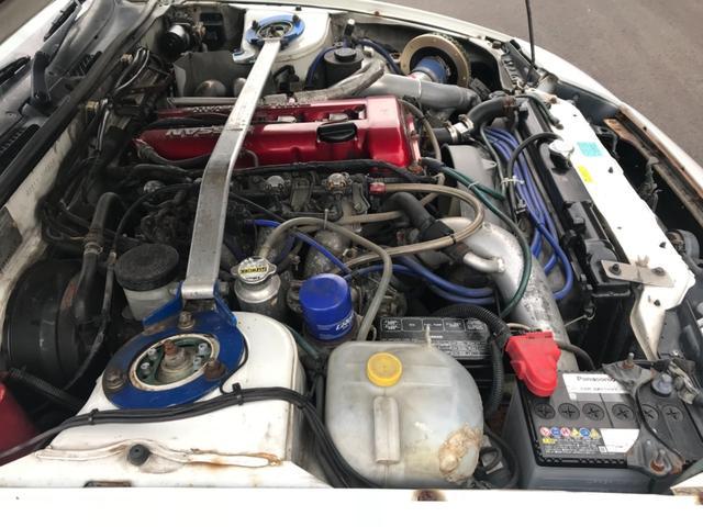 日産 180SX GT2835タービン 鍛造ピストン Vプロ 5MT