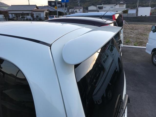 RS ターボ リアスポイラー アルミ オートエアコン(9枚目)