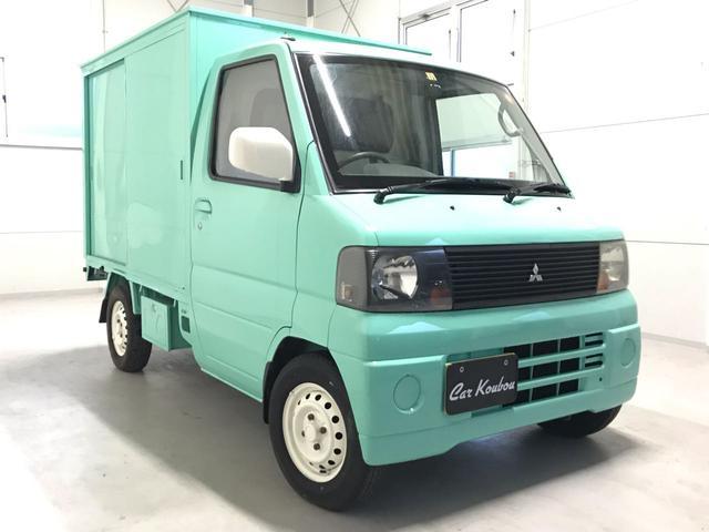 移動販売車 ショーケース 全塗装済み エアコン パワステ(3枚目)