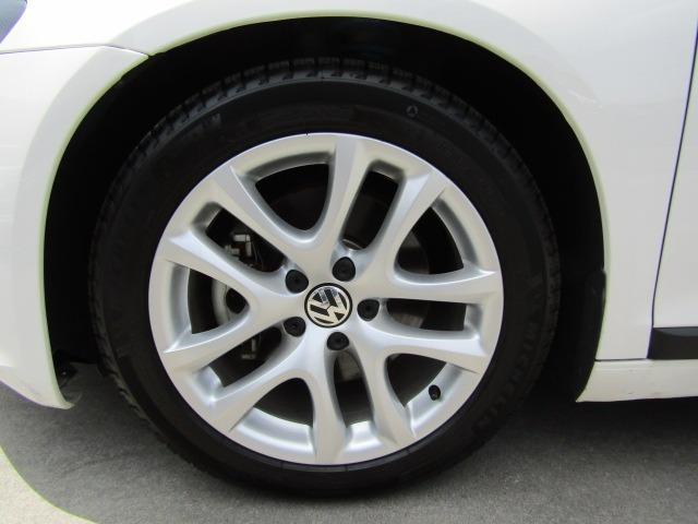 TSI HIDヘッドライト ETC 後方障害物センサー 純正17inアルミホイール 車高調(7枚目)