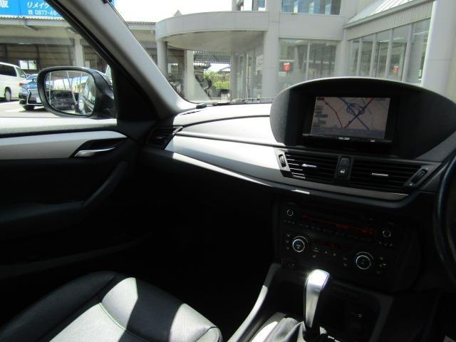 sDrive 18i xライン ハイラインPKG 黒革シート 前席パワーシート シートヒーター カロッツェリア7型ナビ ドラレコ HIDヘッドライト スマートキー 地デジチューナー(11枚目)