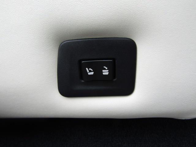 スイッチで簡単にシートを倒したり起こしたりできます!