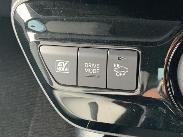 ドライブモード選択できます!