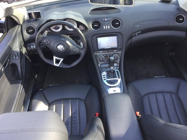メルセデス・ベンツ M・ベンツ SL63 AMG外HDDナビ黒革シートヒーター&エアーシート