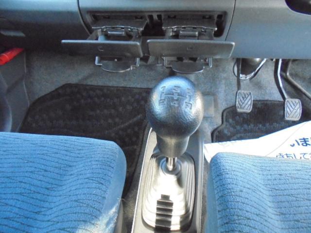 FX 5速マニュアル 4WD タイミングチェーン車(18枚目)