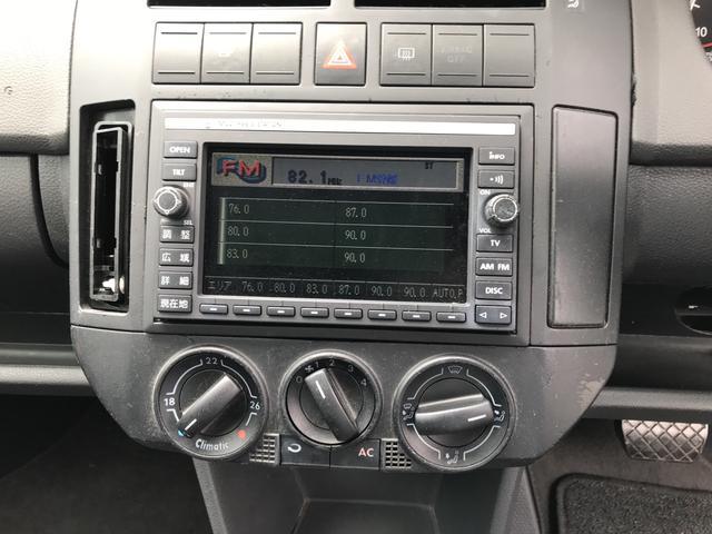 フォルクスワーゲン VW ポロ TV ナビ フロアAT AW CD コンパクトカー