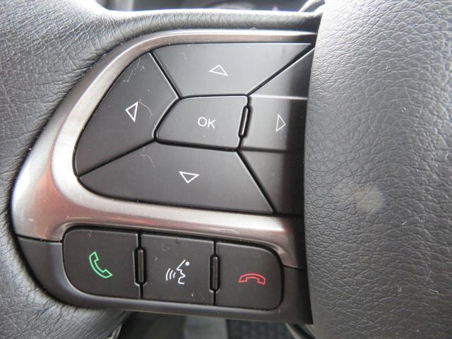 リミテッド レネゲード リミテッド ETC バックモニター TV Bluetooth接続 ナビ レザーシート 認定中古車保証 ターボ付き パワーシート LED ワンオーナー(9枚目)