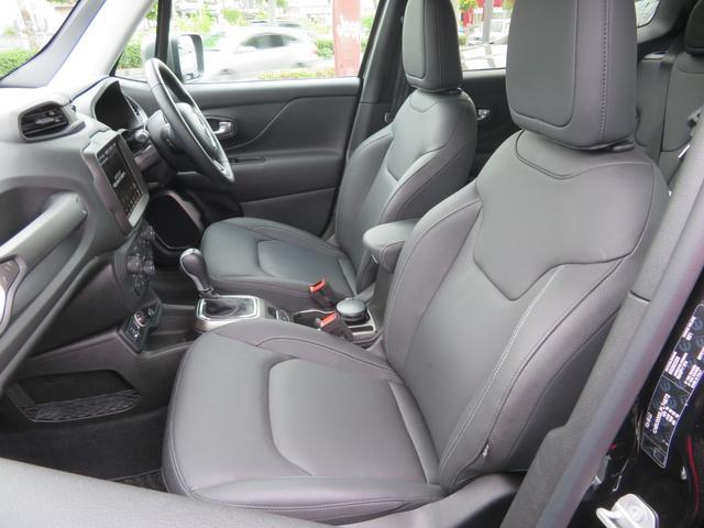 リミテッド レネゲード リミテッド ETC バックモニター TV Bluetooth接続 ナビ レザーシート 認定中古車保証 ターボ付き パワーシート LED ワンオーナー(15枚目)