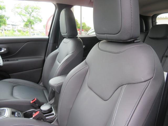 リミテッド レネゲード リミテッド ETC バックモニター TV Bluetooth接続 ナビ レザーシート 認定中古車保証 ターボ付き パワーシート LED ワンオーナー(16枚目)