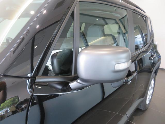 リミテッド レネゲード リミテッド ETC バックモニター TV Bluetooth接続 ナビ レザーシート 認定中古車保証 ターボ付き パワーシート LED ワンオーナー(35枚目)
