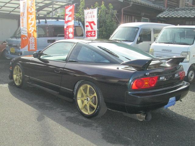 日産 180SX タイプX 後期ターボ5速 車高調