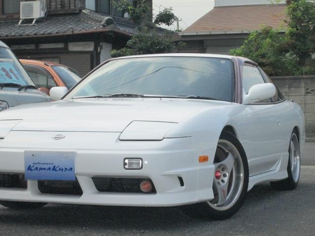 日産 180SX タイプX 後期 ターボ5速 車高調