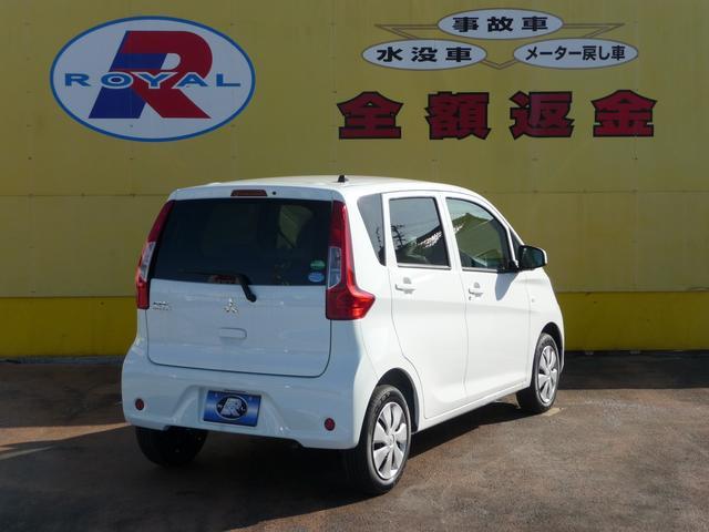 三菱 eKワゴン E 届出済未使用車 キーレスキー シートヒーター
