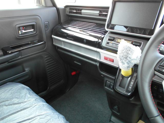 ハイブリッドXSターボ  登録届出済未使用車 両側自動ドア(12枚目)