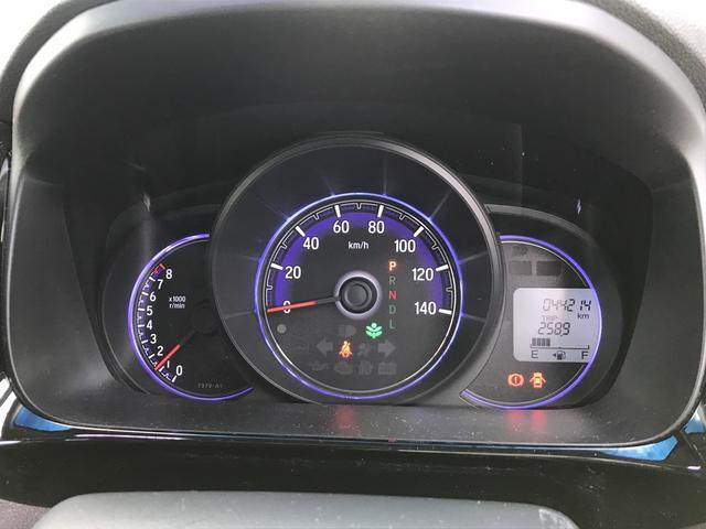 G・Aパッケージ CTBA ハーフレザーシート クルーズコントロール スマートキー HIDヘッドライト オートライト オートエアコン 14インチアルミホイール(6枚目)