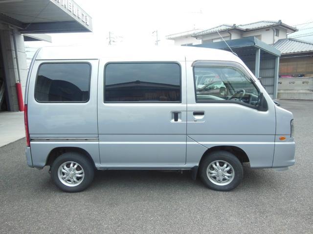 「スバル」「サンバーバン」「軽自動車」「愛媛県」の中古車4
