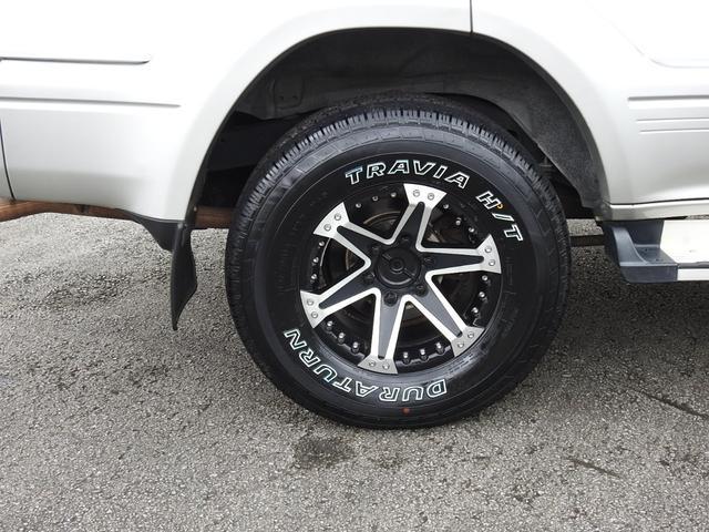 社外アルミホイール 新品タイヤ交換済