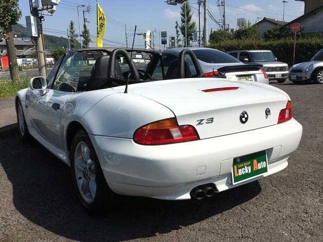 BMW BMW Z3ロードスター 2.2i 幌オープン ワンオーナー 16インチアルミホイール