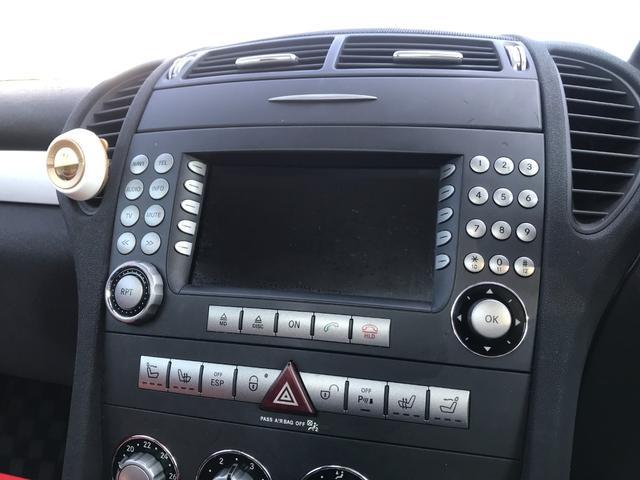SLK350 赤皮シート キセノンライト 純正ナビ ETC クルーズコントロール ガレージ保管(20枚目)