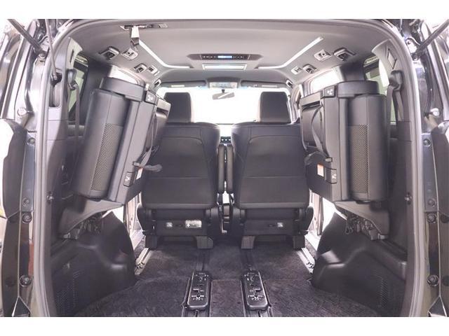 2.5Z Aエディション ゴールデンアイズ フルセグ メモリーナビ DVD再生 後席モニター バックカメラ 衝突被害軽減システム ETC 両側電動スライド LEDヘッドランプ 乗車定員7人 3列シート ワンオーナー 記録簿(30枚目)