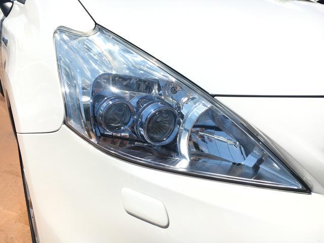 トヨタ プリウスアルファ Sツーリングセレクション 後席モニター HDDナビ