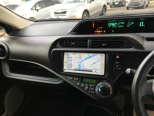 トヨタ アクア G ワンオーナー メモリーナビTV オートエアコン