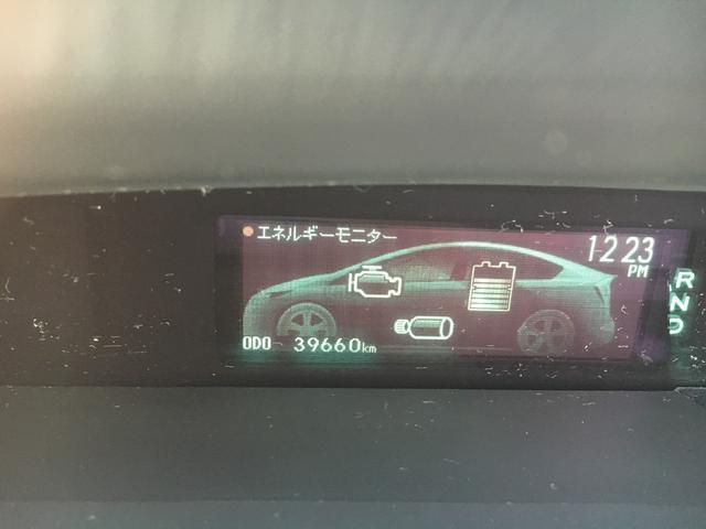 トヨタ プリウス S バックカメラ ETC メモリーナビ