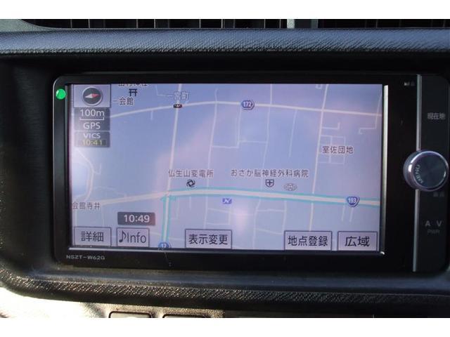 トヨタ アクア G ETC フルセグTV バックカメラ メモリーナビ