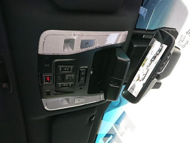 エグゼクティブラウンジS 革シート サンルーフ 4WD フルセグ メモリーナビ DVD再生 ミュージックプレイヤー接続可 後席モニター バックカメラ 衝突被害軽減システム ETC 両側電動スライド LEDヘッドランプ 記録簿(8枚目)