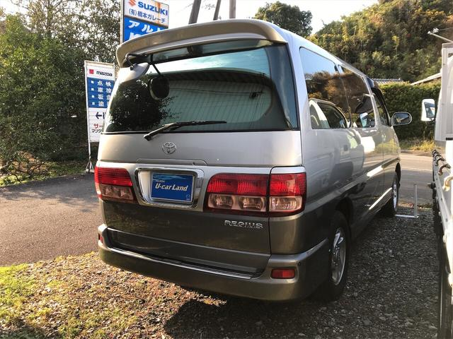 「トヨタ」「レジアス」「ミニバン・ワンボックス」「高知県」の中古車4
