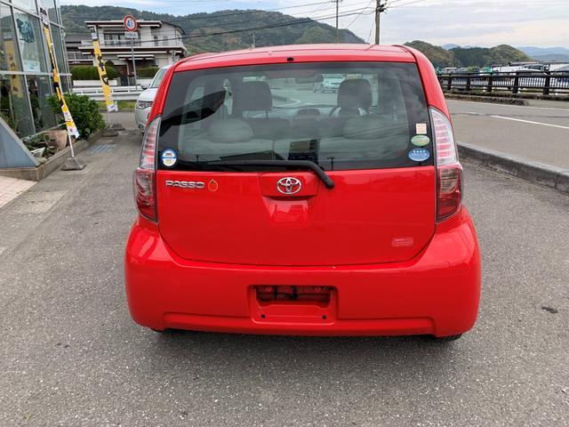 「トヨタ」「パッソ」「コンパクトカー」「高知県」の中古車5