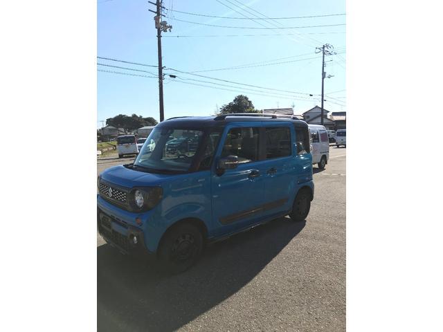 「スズキ」「スペーシアギア」「コンパクトカー」「高知県」の中古車4