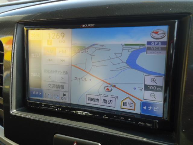 スズキ ワゴンRスティングレー X  メモリーナビ フルセグTV