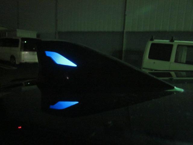 ★トップノットアンテナが点灯した状態です。夜間はやっぱりきれいですね★