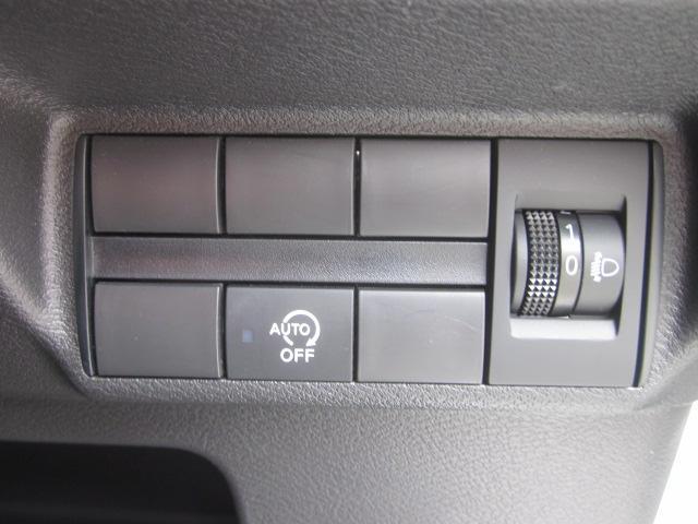 ★ヘッドライトの高さ調整ダイアルとアイドリングストップスイッチになります★