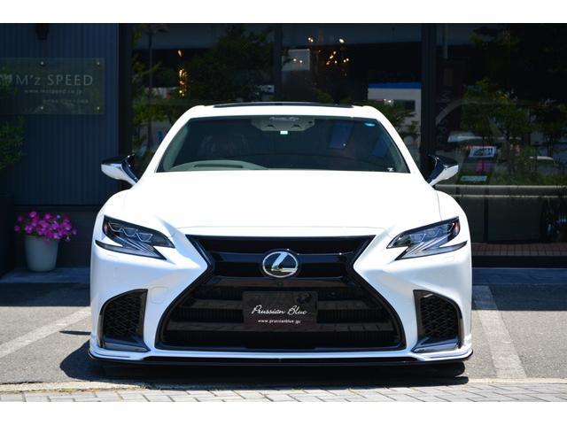 LS500 Fスポーツ ZEUS新車カスタムコンプリートカー(4枚目)