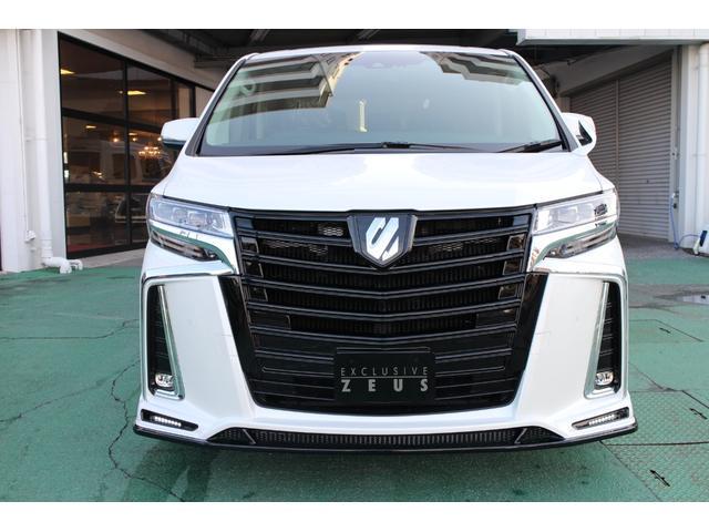 アルファードSーCパッケージZEUS新車カスタムコンプリート 車高調バージョン