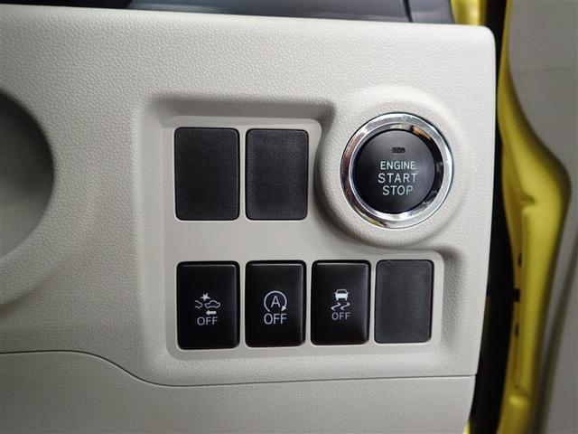 エンジンスタートボタン・予防安全装備スマートアシストのON・OFFスイッチが運転席右側に配置されています