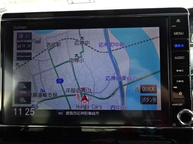 G・Lターボホンダセンシング メモリーナビ・Bカメラ・ETC(8枚目)