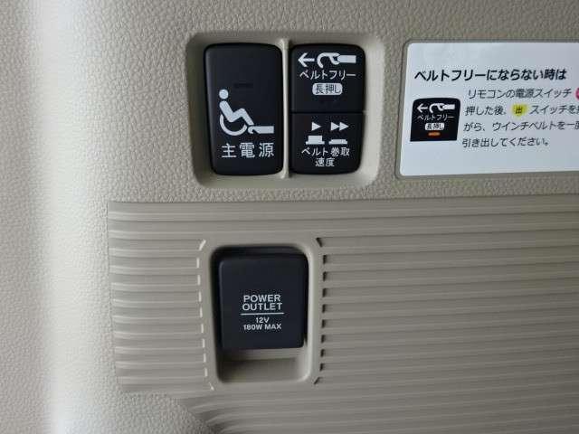 660 G スロープ L ホンダセンシング 車いす専用装備装 メモリーナビ・Bカメラ・ETC(19枚目)
