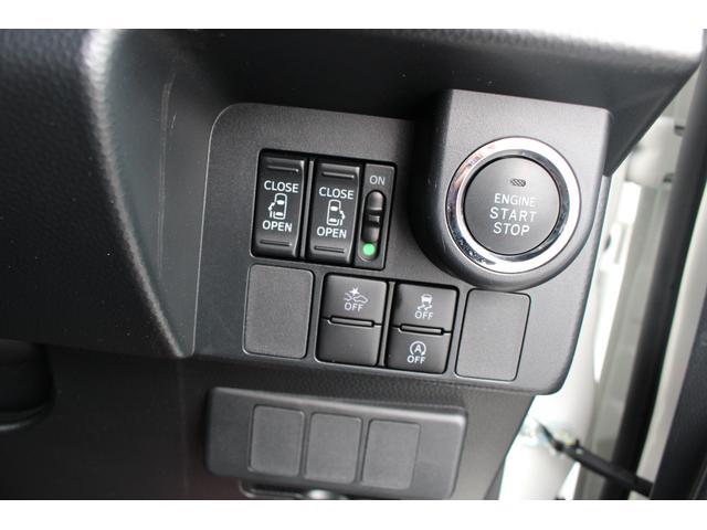 電子カードキーを携帯していれば、このボタンを押すだけでエンジンの始動が出来ちゃうプッシュボタンスタート。また電子キーかマスターキーがなければ、エンジンが始動しない盗難防止機能付!!安心ですね。