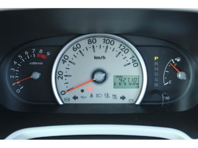 まあるいスピードメーターは表示が大きくシンプルな表示なのでとっても見やすいです。
